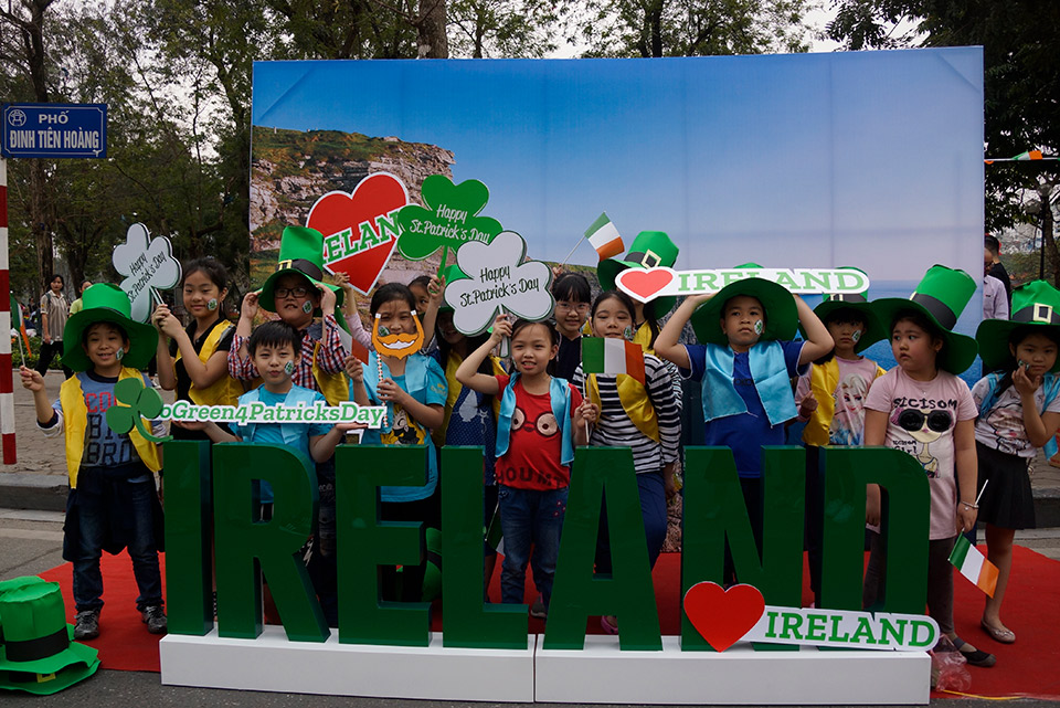 Hanoi 'goes green' on St. Patrick's Day, and Ireland Day 2019