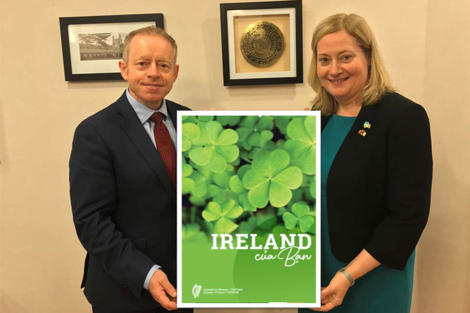 Minister of State Ciarán Cannon launches 'Ireland for You' publication
