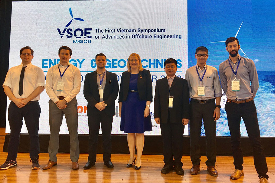 Team Ireland attends the First Vietnam Symposium on Advances in Offshore Engineering