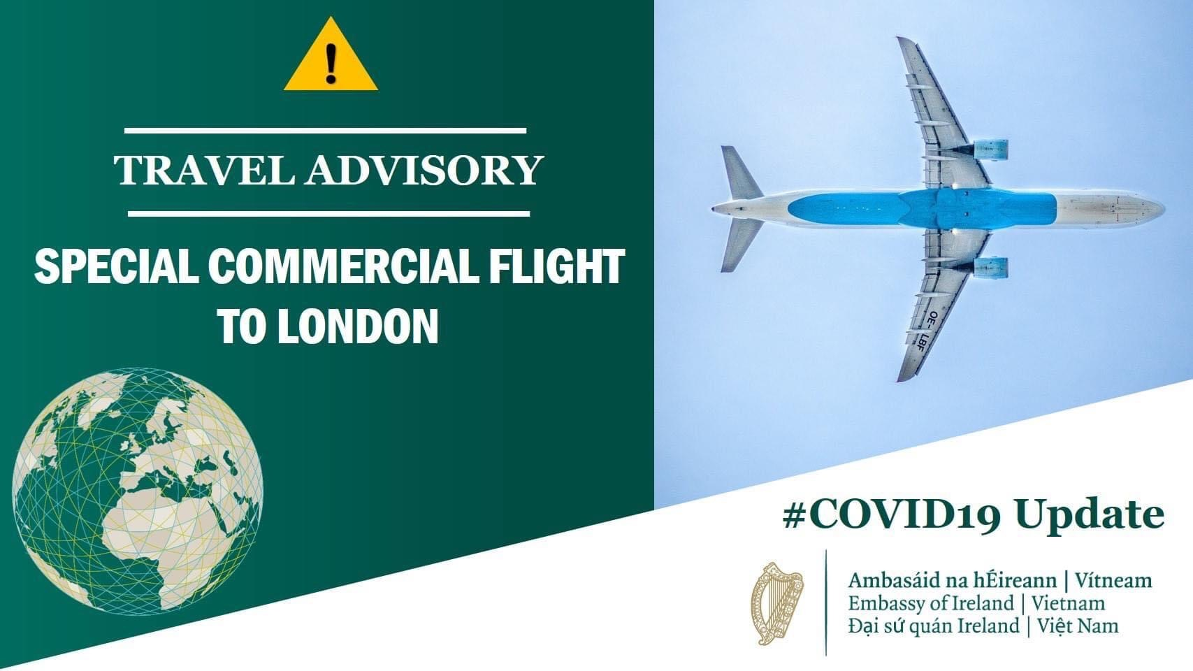 Special Commerical Flight to London