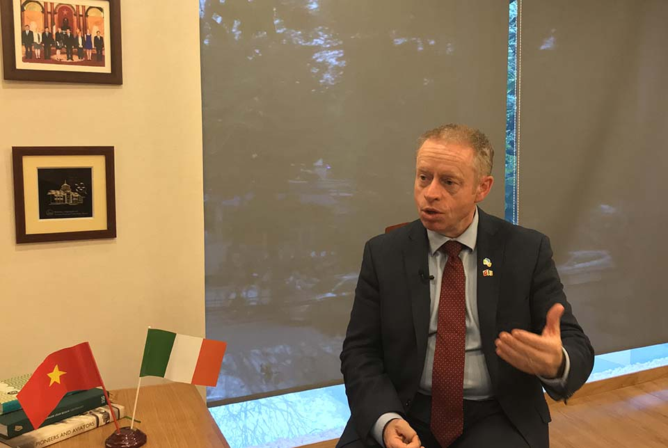 Irish people are making an impact in Vietnam, says Minister Ciarán Cannon