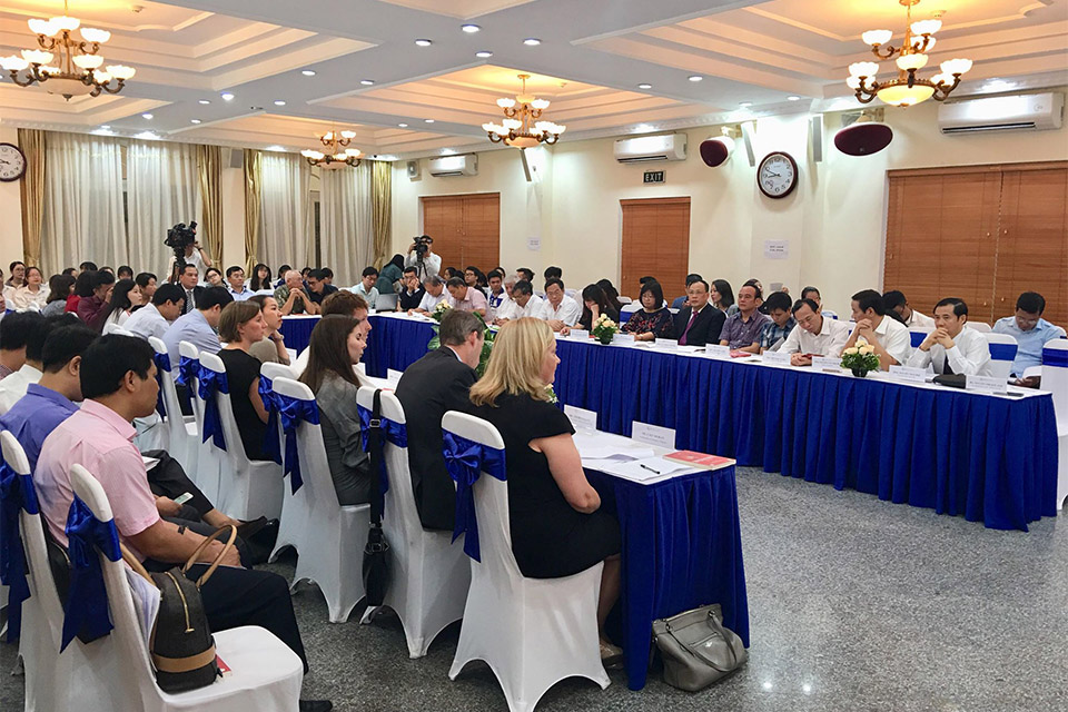 Ireland supports the first Masters' in Law on State Governance and Anti-corruption at the Vietnam National University Hanoi (VNU Hanoi)