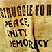 Peace Slogan on t-shirt Karamoja, Uganda